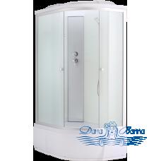Душевая кабина Aquapulse 3106D L fabric white 120х80