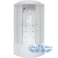 Душевая кабина Royal Bath RB 90BK2-M 90х90 (матовое)