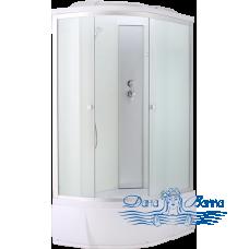 Душевая кабина Aquapulse 3106D R fabric white 120х80