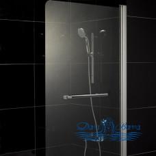 Шторка на ванну 1MarKa P-02 85 профиль хром, стекло прозрачное