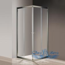 Душевой уголок Cezares Giubileo-A-2-80 прозрачное стекло, бронза 80х80