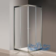 Душевой уголок Cezares Giubileo-A-2-90 прозрачное стекло, бронза 90х90