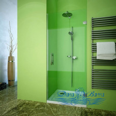 Душевая дверь в нишу GuteWetter Lux Door GK-001 правая 70 фурнитура хром