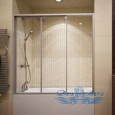 Шторка на ванну GuteWetter Practic Part GV-403A правая 176-180 профиль хром