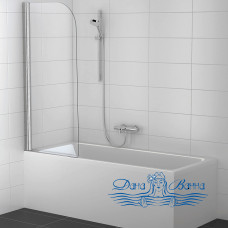 Шторка на ванну Koller Pool Waterfall Line QP93 Chrome Clear