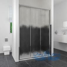 Душевая дверь в нишу RGW Classic CL-11 (960-1010) профиль хром, стекло шиншилла