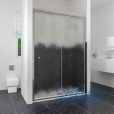 Душевая дверь в нишу RGW Classic CL-12 (960-1010) стекло шиншилла