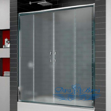 Шторка на ванну RGW Screens SC-61 150 профиль хром, стекло матовое