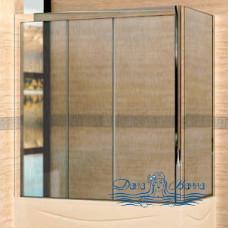 Шторка на ванну RGW Screens SC-81 (176-181)х70 профиль хром, стекло шиншилла