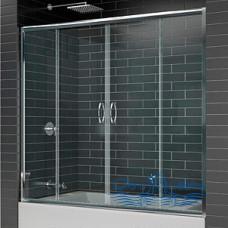 Шторка на ванну RGW Screens SC-61 180 профиль хром, стекло чистое