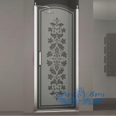 Душевая дверь в нишу Sturm Schick 80 L decor chrome
