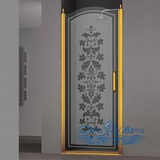 Душевая дверь в нишу Sturm Schick 80 L decor gold