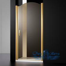 Душевая дверь в нишу Sturm Schick 80 L gold