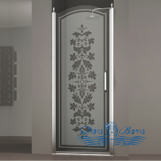 Душевая дверь в нишу Sturm Schick 80 R decor chrome