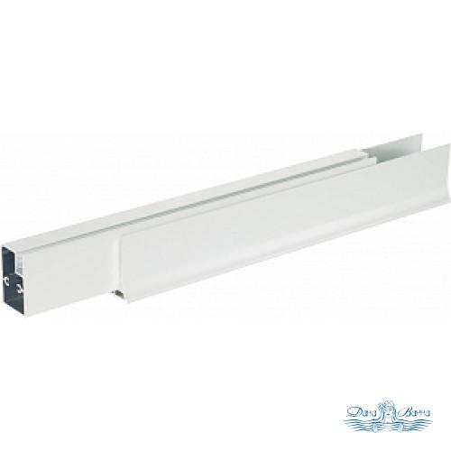 Душевой уголок Vegas Glass AFS-F 110х90 01 01 L профиль белый, стекло прозрачное