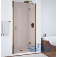 Душевая дверь в нишу Vegas Glass AFP 110 05 05 R профиль бронза, стекло бронза