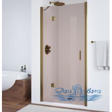 Душевая дверь в нишу Vegas Glass AFP 110 05 05 L профиль бронза, стекло бронза