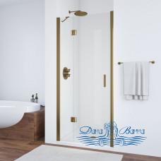 Душевая дверь в нишу Vegas Glass AFP 100 05 01 L профиль бронза, стекло прозрачное