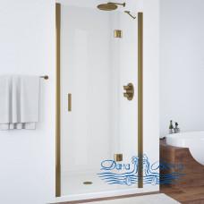 Душевая дверь в нишу Vegas Glass AFP 110 05 01 R профиль бронза, стекло прозрачное