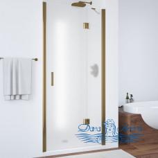 Душевая дверь в нишу Vegas Glass AFP 100 05 10 R профиль бронза, стекло сатин