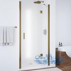 Душевая дверь в нишу Vegas Glass AFP 110 05 10 R профиль бронза, стекло сатин