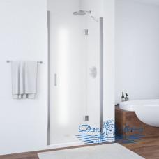 Душевая дверь в нишу Vegas Glass AFP 100 08 10 R профиль глянцевый хром, стекло сатин
