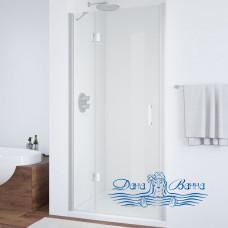 Душевая дверь в нишу Vegas Glass AFP 100 07 01 L профиль хром, стекло прозрачное