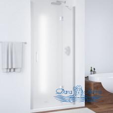 Душевая дверь в нишу Vegas Glass AFP 100 07 10 R профиль хром, стекло сатин