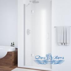 Душевая дверь в нишу Vegas Glass AFP 100 07 10 L профиль хром, стекло сатин