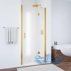 Душевая дверь в нишу Vegas Glass AFP 100 09 10 R профиль золото, стекло сатин