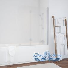 Шторка на ванну Vegas Glass E2V 120 07 10 R профиль хром, стекло сатин