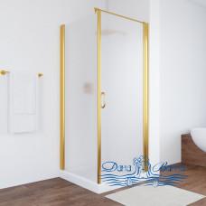 Душевой уголок Vegas Glass EP-Fis 80 09 10 R профиль золото, стекло сатин