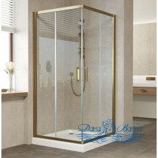 Душевой уголок Vegas Glass ZA 90 05 01 профиль бронза, стекло прозрачное