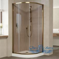 Душевой уголок Vegas Glass ZS 100 05 05 профиль бронза, стекло бронза