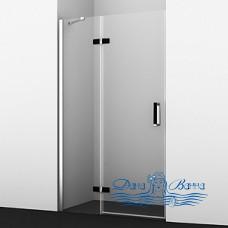 Душевая дверь в нишу Wasserkraft Aller Black 10H05LB 120