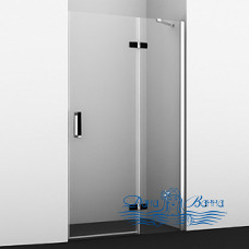 Душевая дверь в нишу Wasserkraft Aller 10H05RB black matt, 120