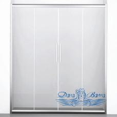 Душевая дверь в нишу Wasserkraft Amper 29S08 150