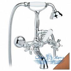 Смеситель Nicolazzi Classica Lusso 1401 BZ 18 для ванны с душем