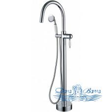 Смеситель Boheme Brillante 269 напольный, для ванны с душем