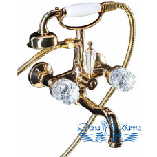 Смеситель Boheme Crystal 293-CRST для ванны с душем