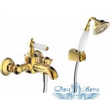 Смеситель Bravat Art F675109U-B для ванны с душем