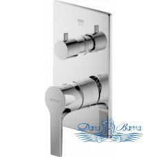 Смеситель Bravat Prolate P69219CP-2-ENG для ванны с душем