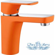 Смеситель D&K Berlin Kunste DA1432113 для раковины, оранжевый