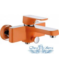 Смеситель D&K Berlin Kunste DA1433213 для ванны с душем, оранжевый