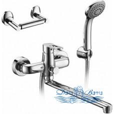 Смеситель Elghansa Ecoflow Alpha 5350207-set4 для ванны с душем