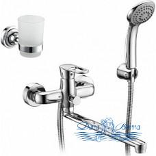 Смеситель Elghansa Ecoflow Beta 5350205-set3 для ванны с душем