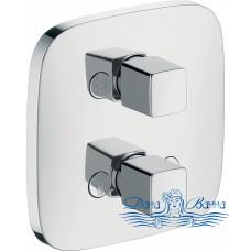 Переключатель потоков Hansgrohe PuraVida iControl 15777000 на три потребителя