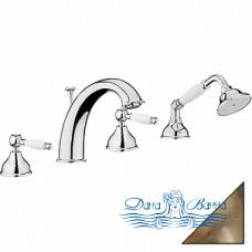 Смеситель Webert Dorian DO730101065 бронза, на борт ванны