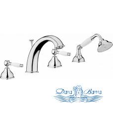 Смеситель Webert Dorian DO730101015 хром, на борт ванны
