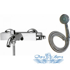 Смеситель Zorg Sanitary ZR 111 W для ванны с душем